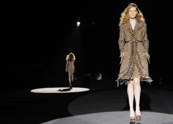 Milan cools down winter look