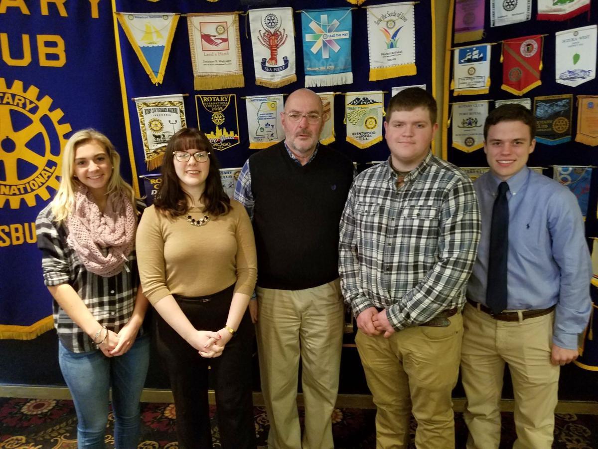 Mechanicsburg Rotary students