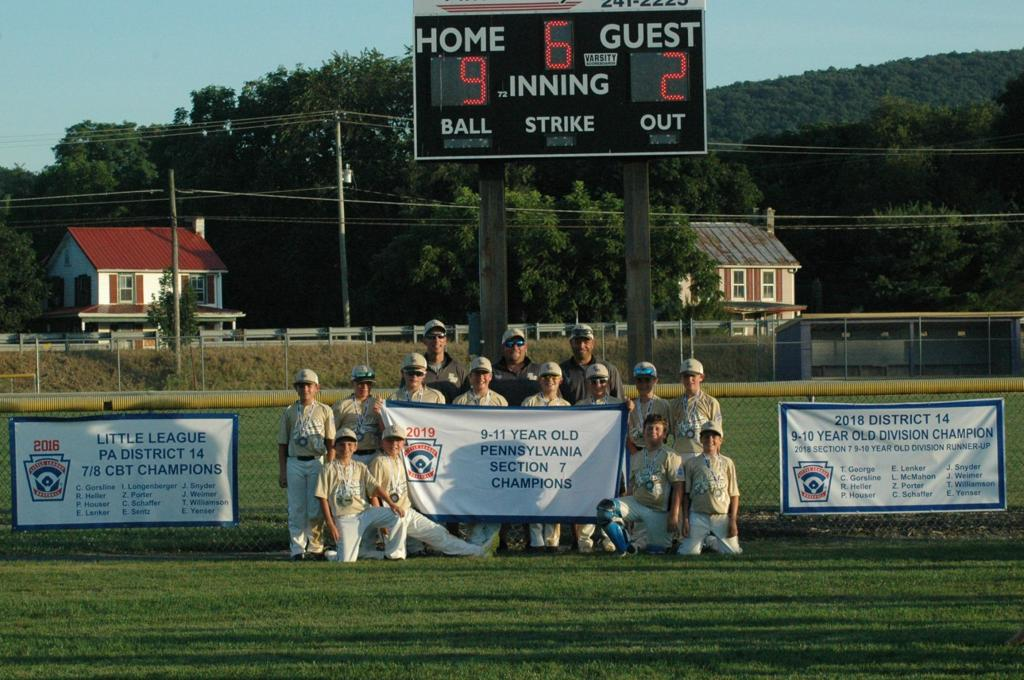 2019 Little League/Cal Ripken tournaments results for July
