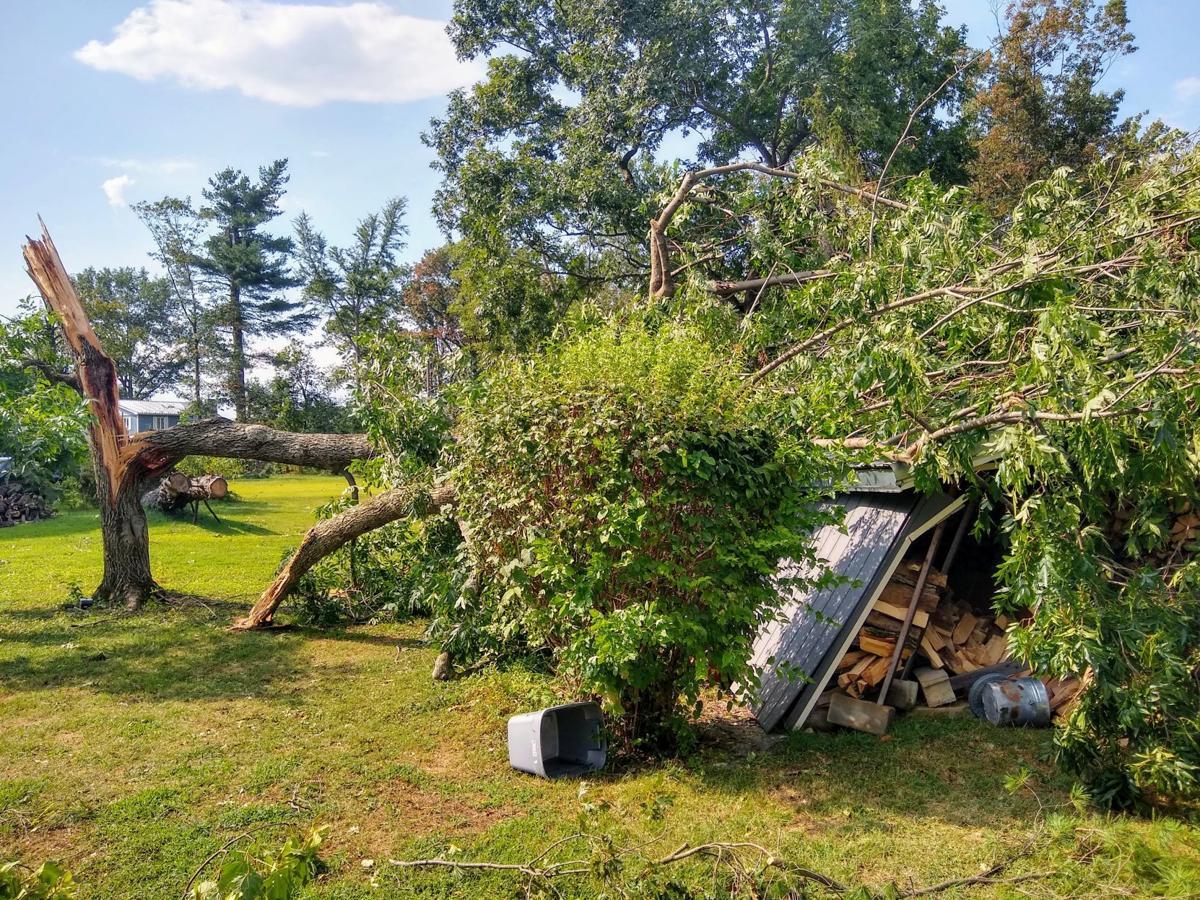 Zion Road Storm Damage
