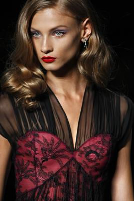 Galliano gives Dior's Bar jacket a film noir twist