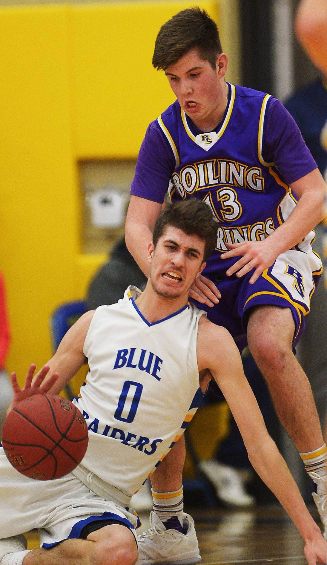 District 3 Boys Basketball: Boiling Springs at Middletown