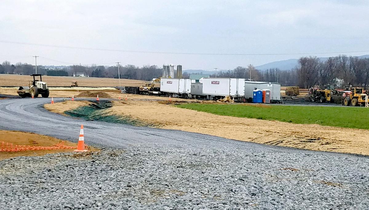 PPL substation in Upper Allen Township