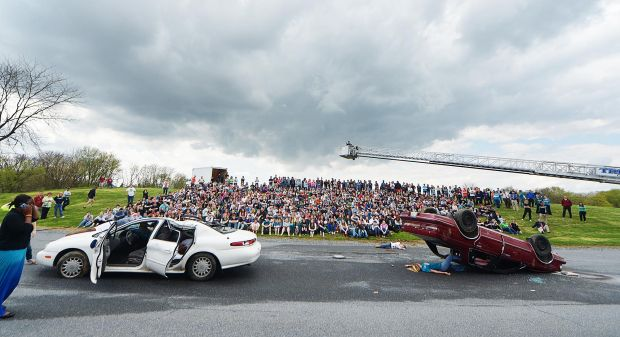 Mock Crash Drives Home The Need For Responsible Choices Carlisle