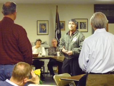 Sestak visits Cumberland County Democrats