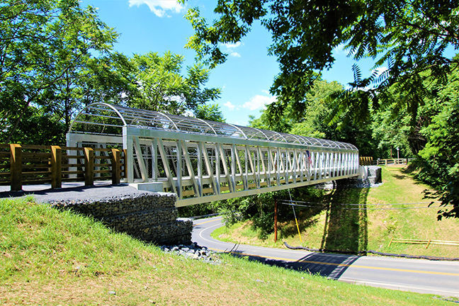 Rails to Trails bridge