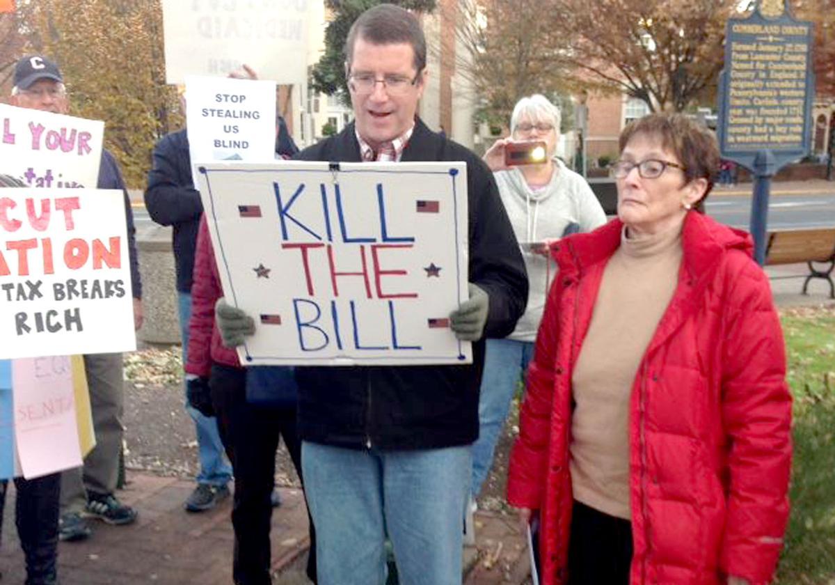 Anti-tax bill rally 11-27-17