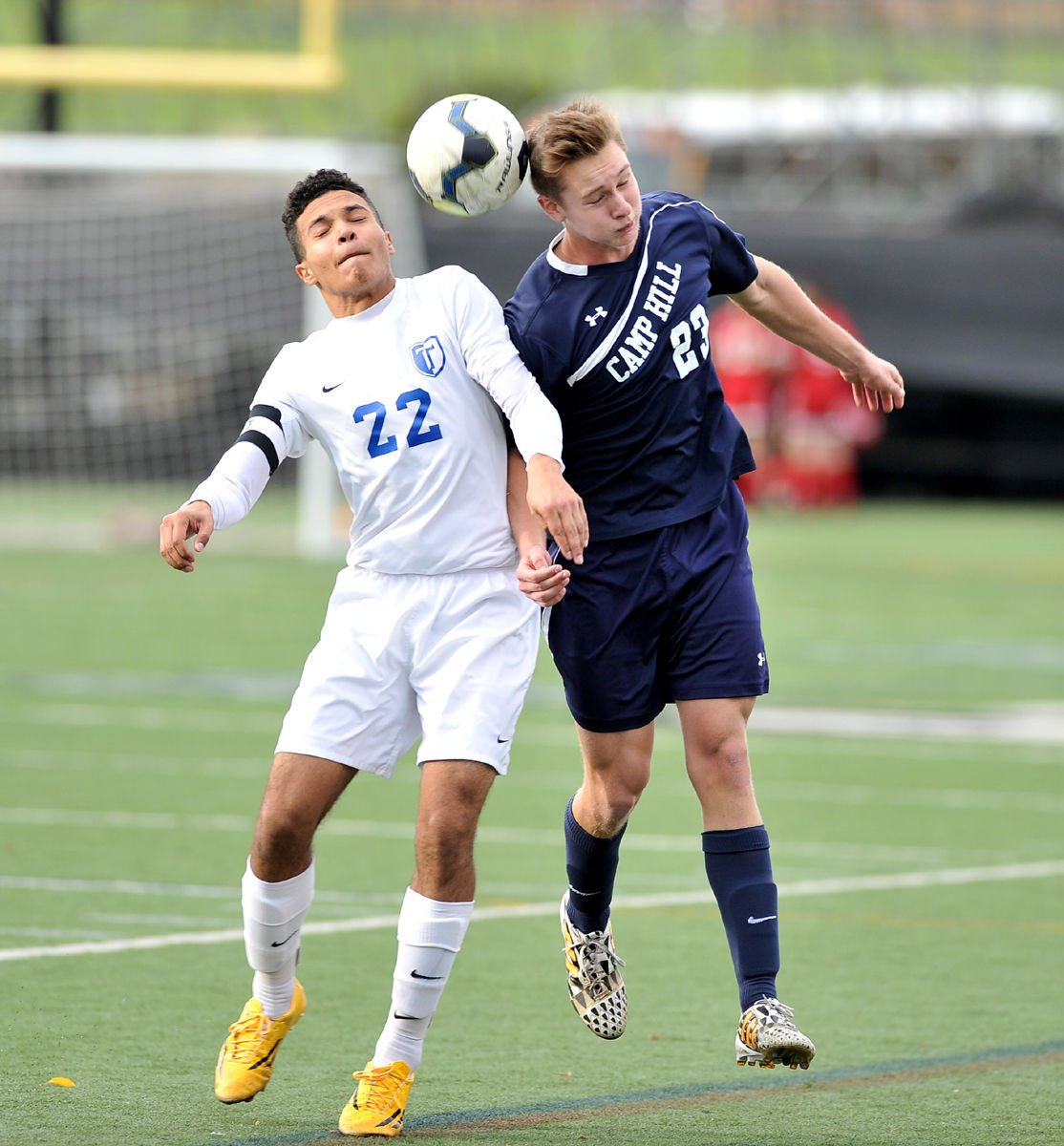hs boys soccer camp hill dominates big spring backyard soccer