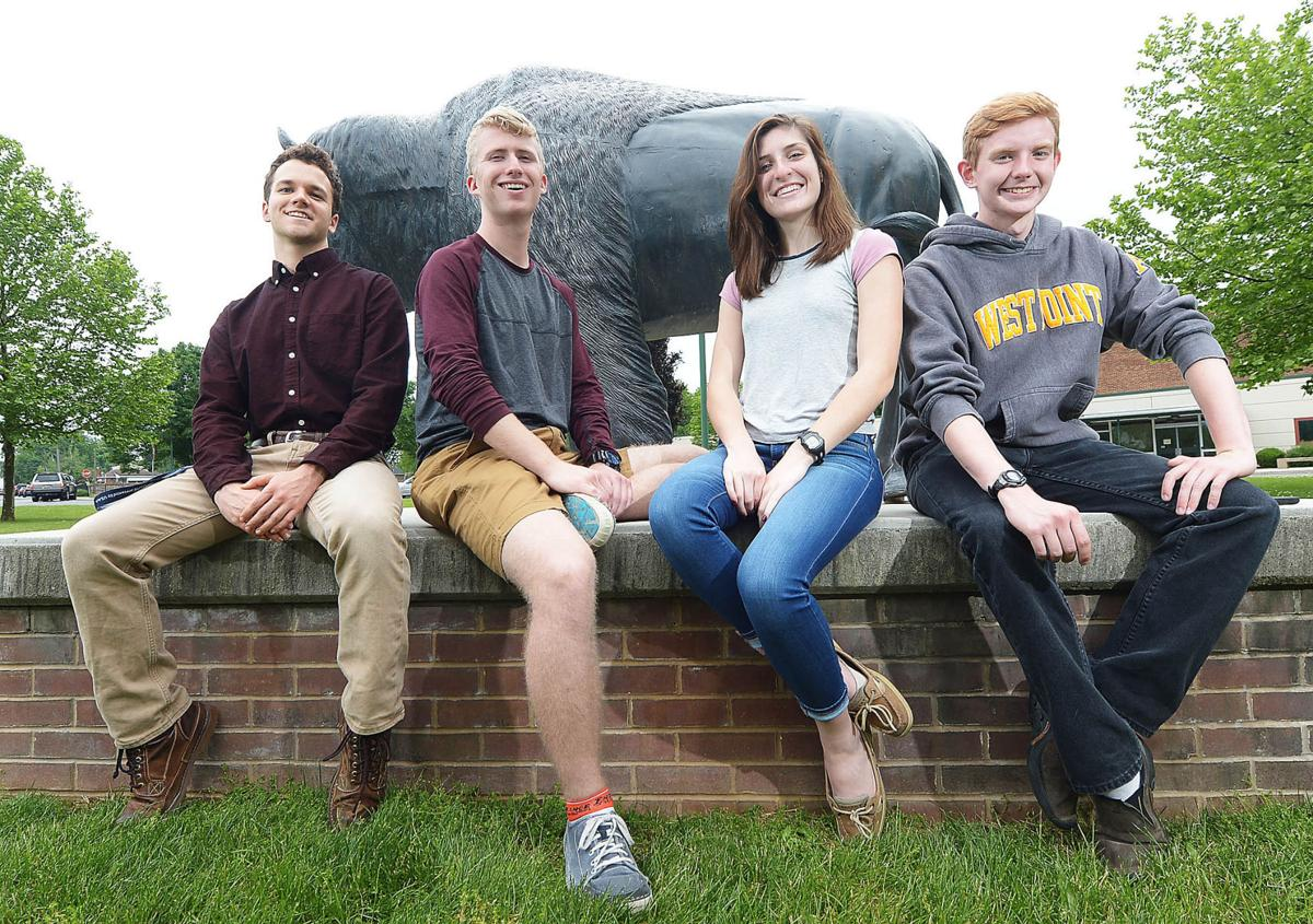 Carlisle military academy students