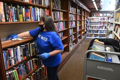 Bosler Memorial Library Day of Caring