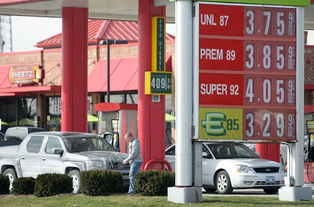 Pa Gas Prices >> Gas Prices On The Rise In Central Pa With No Drop In Sight The