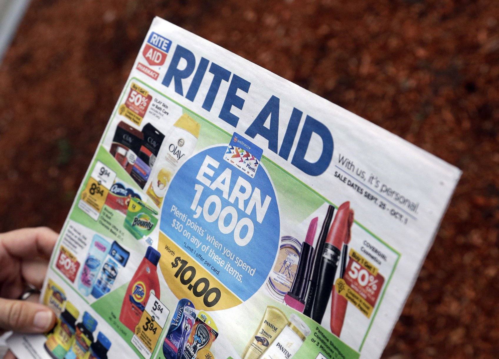 Tracking Shares of Rite Aid Corporation (NYSE:RAD)