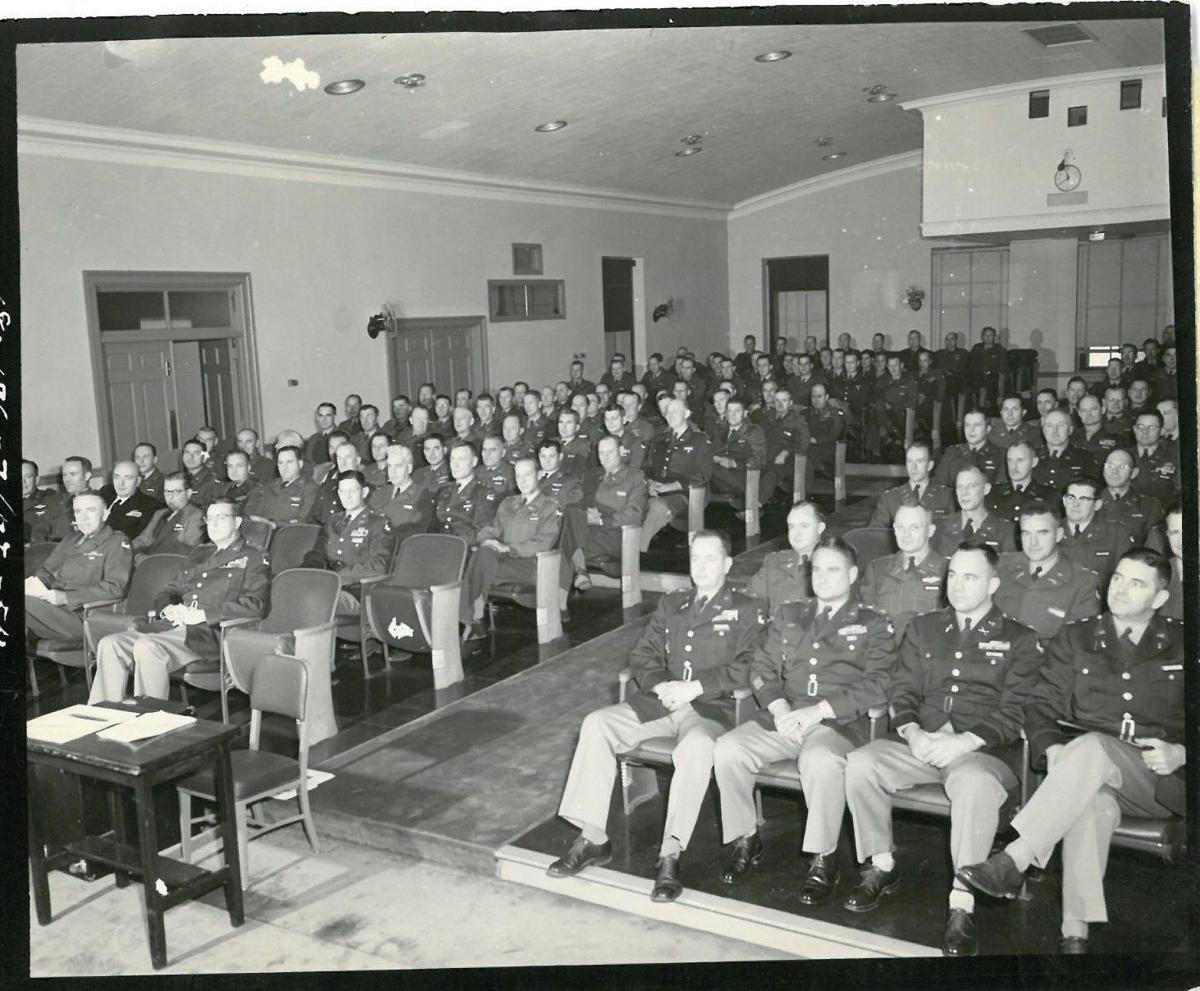 Students in Class 1954-55