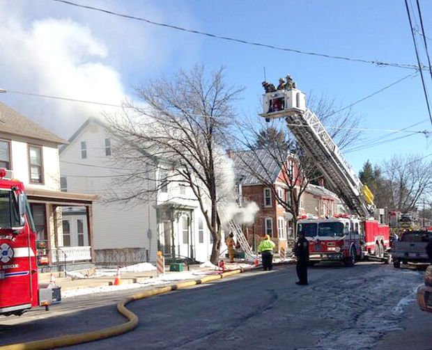 Chief space heater likely cause of carlisle house fire for The carlisle house
