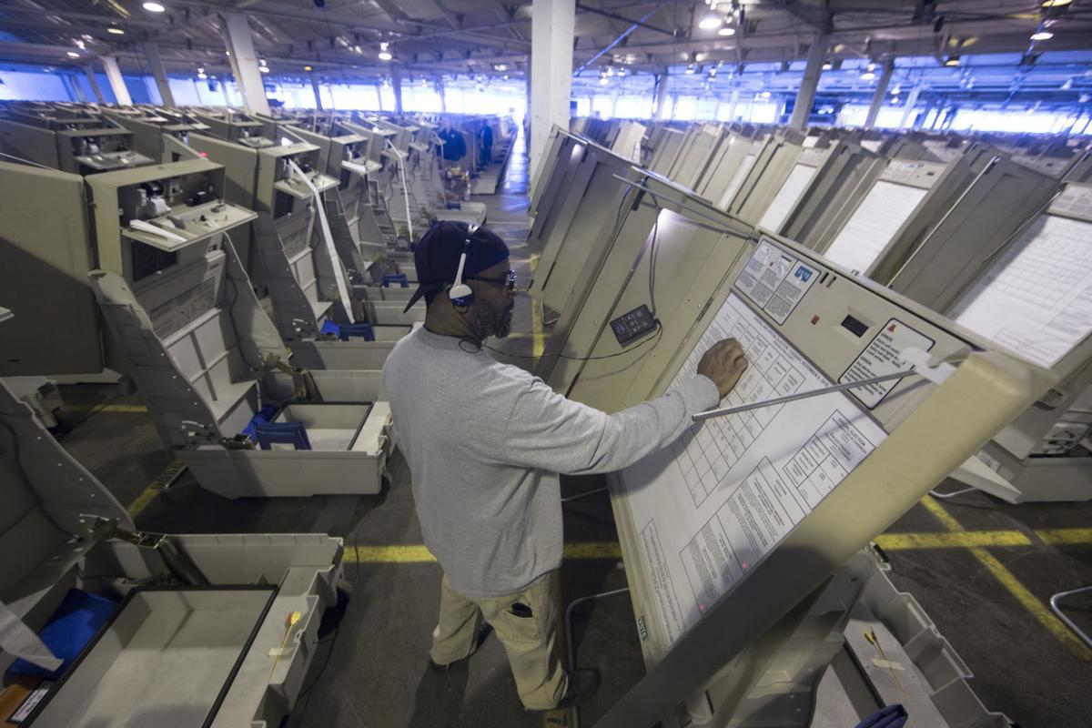 Election machine