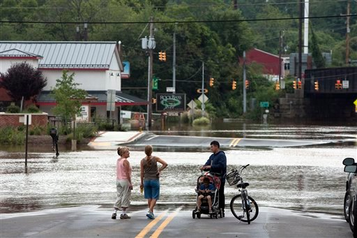 Year In Review Central Pa S Erratic Weather Set Records