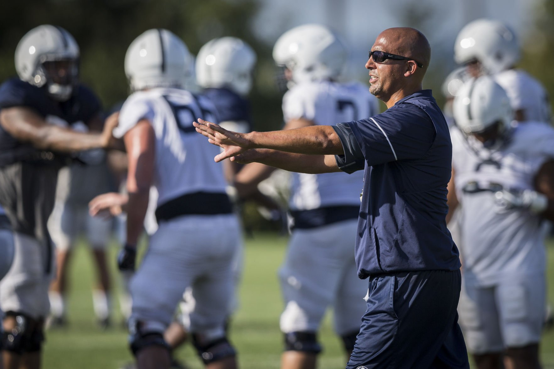 Penn State inks head coach James Franklin to new six-year deal