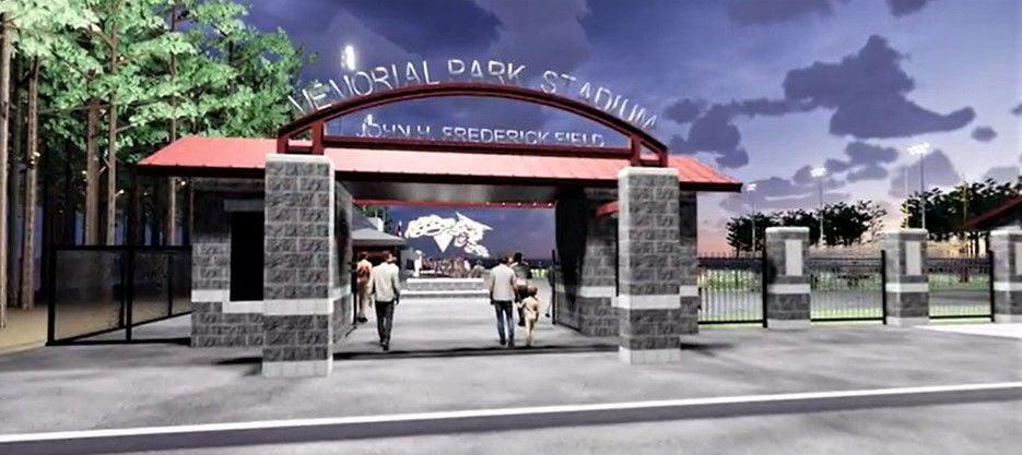 Memorial Park Field project