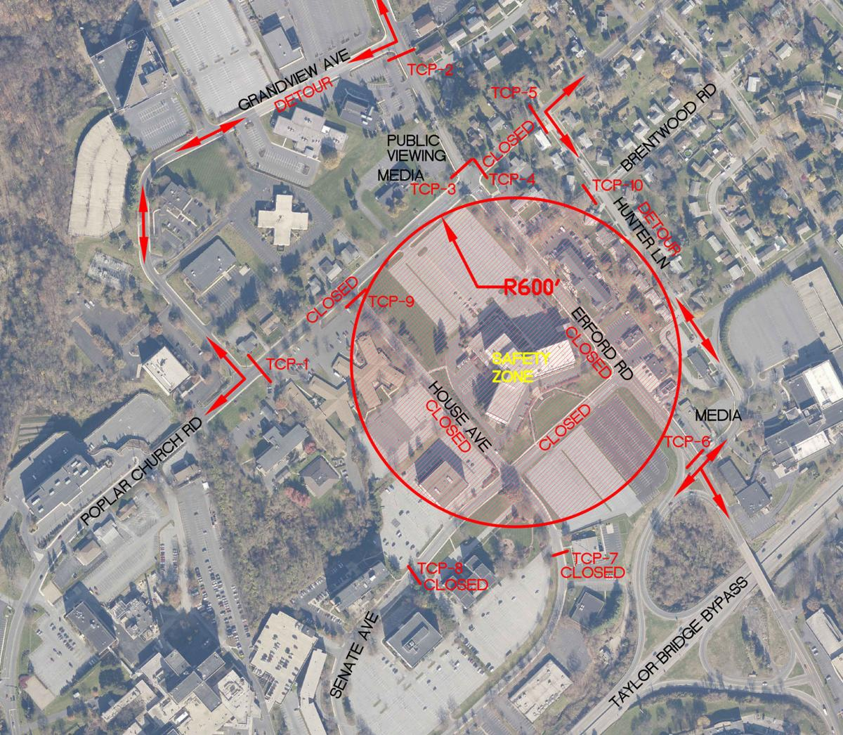 Implosion map