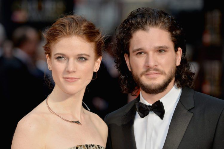 Kit Harington And Rose Leslie Announce Engagement The Old-Fashioned Way