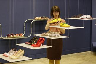 Design museum steps out with shoe show