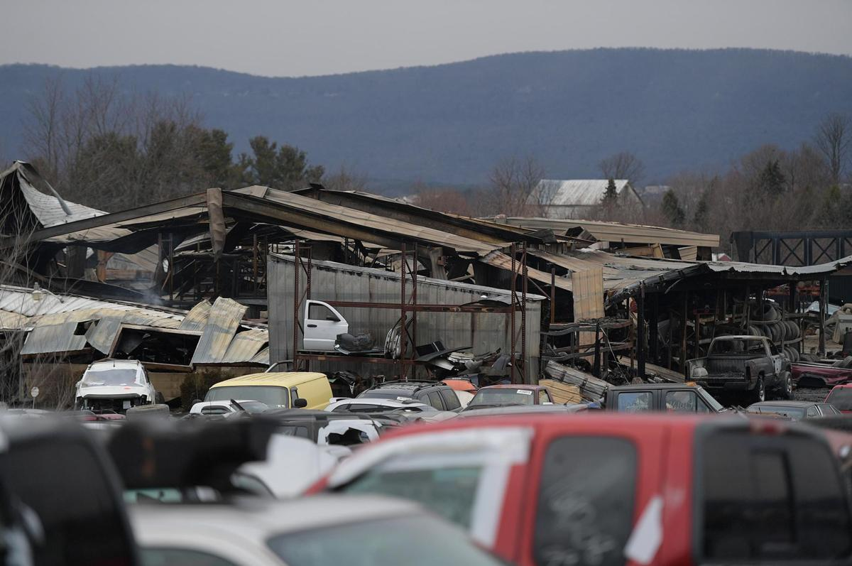 Carlisle Auto Salvage >> Fire Destroys Carlisle Salvage Yard Cumberlink Com