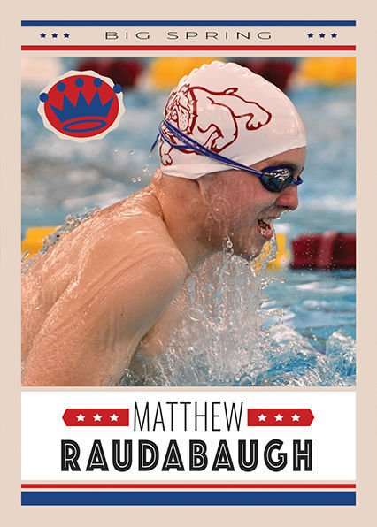 All-Sentinel Swimming Boys AOTY: Big Spring's Matthew Raudabaugh