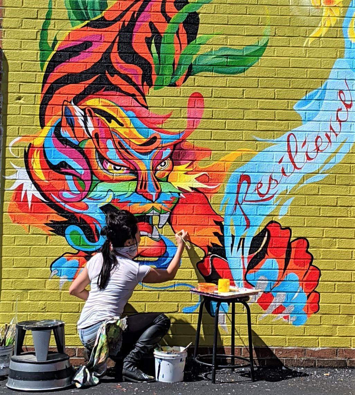 Aron Rook mural