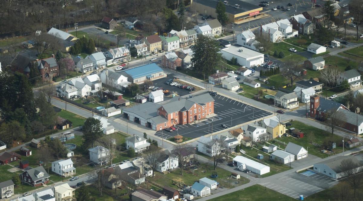 Mount Holly Springs aerial