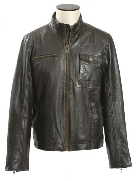 Biker style hits the streets: Lots of leather, no hog