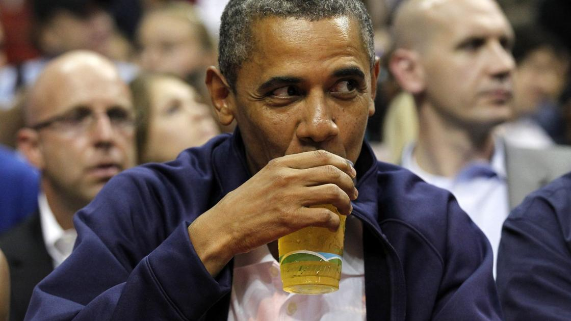 From water to 'everything,' here's a look at every US president's favorite drink