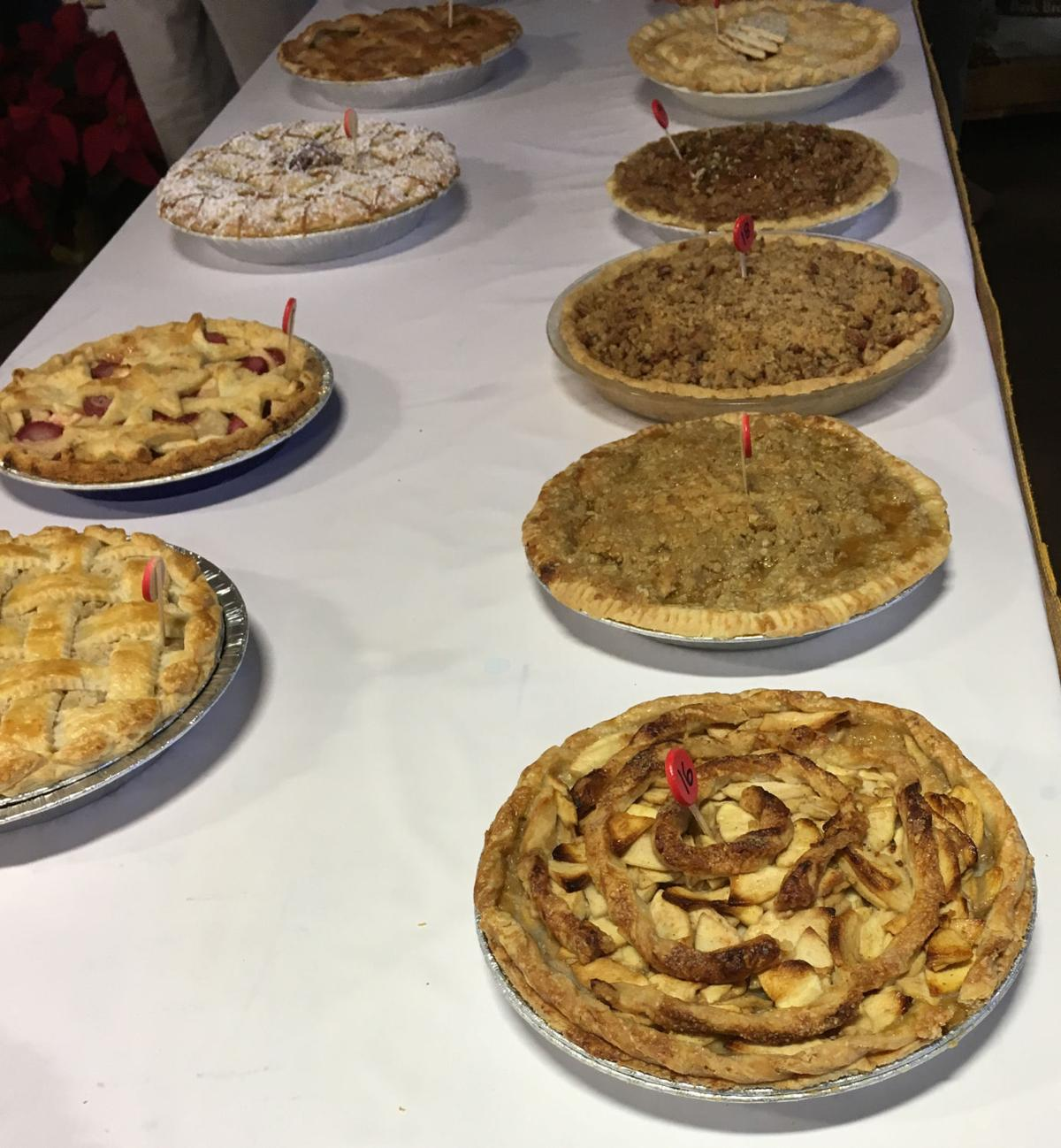 Farm Show apple pie contest