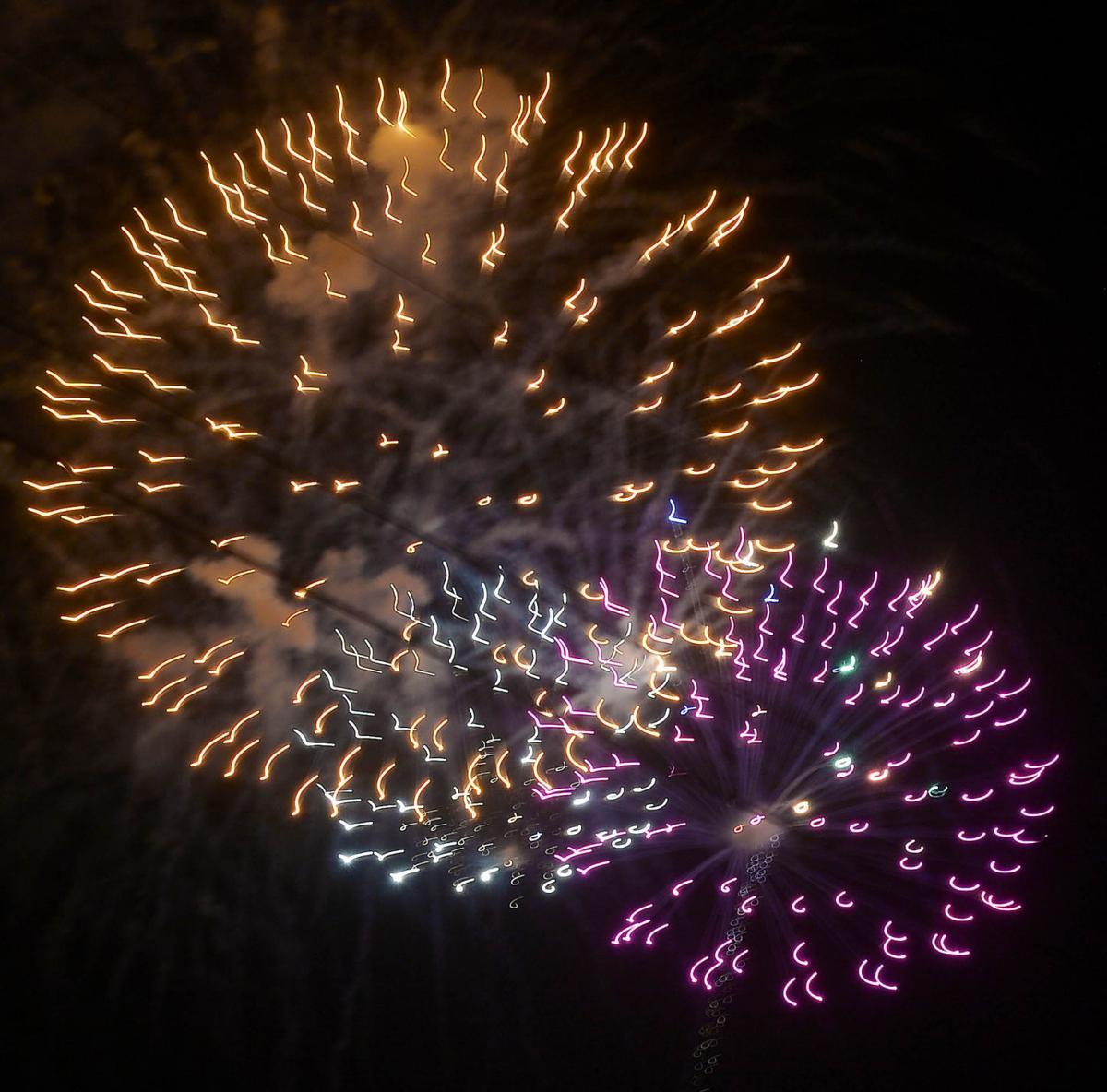 Stars Burst Over Carlisle Fireworks Show