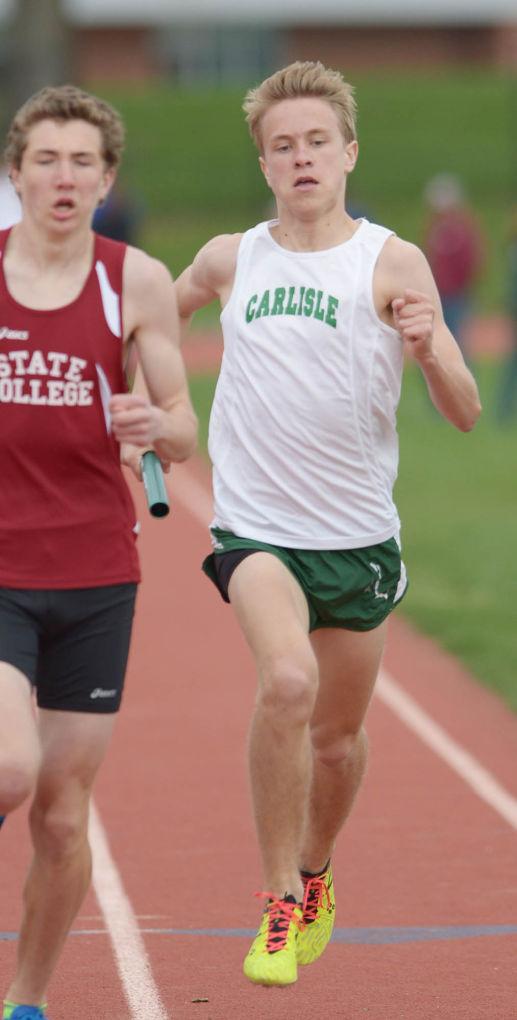 Carlisle vs State College Track