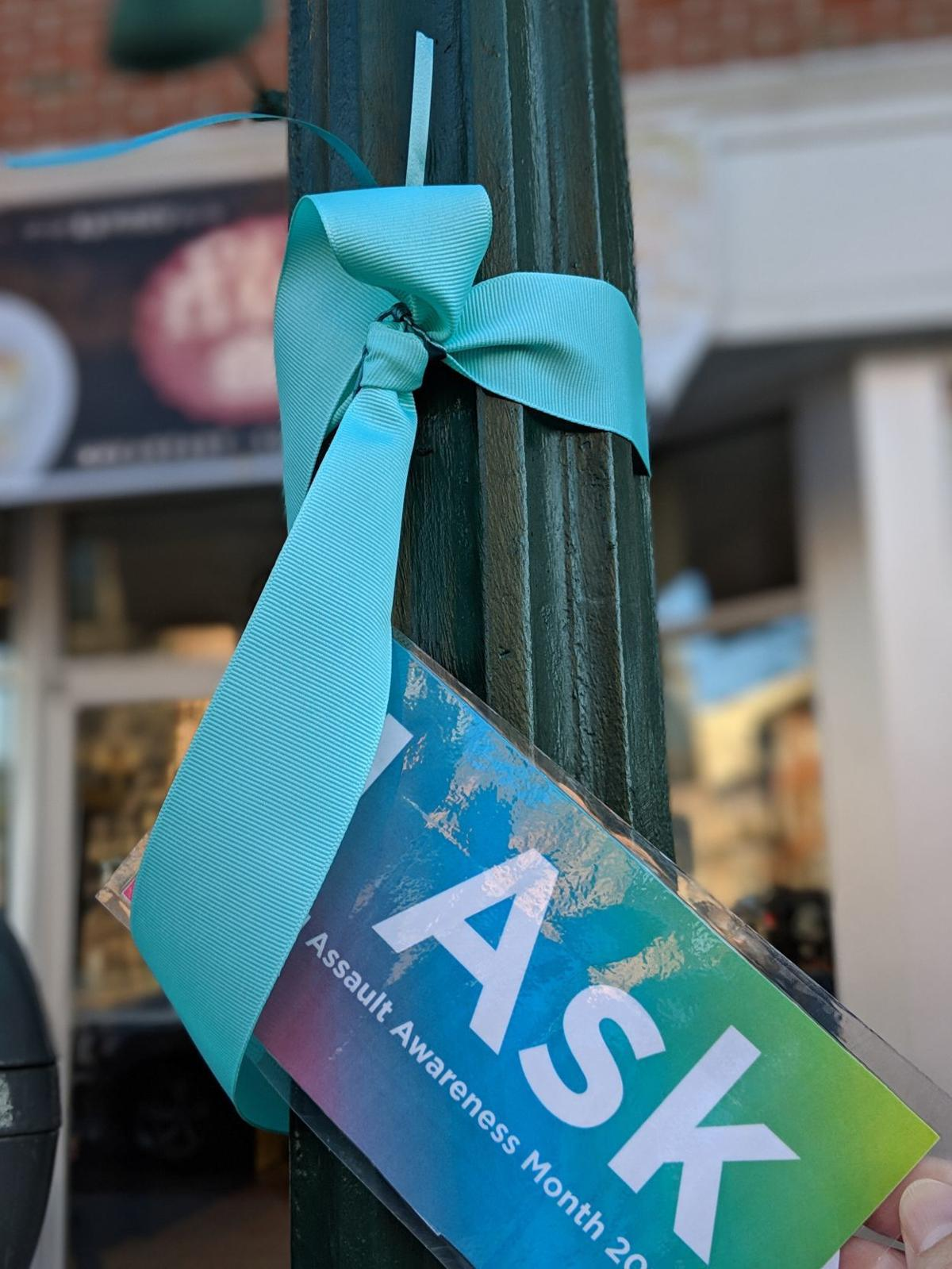 Teal Ribbon Sexual Assault Awareness Month 2019