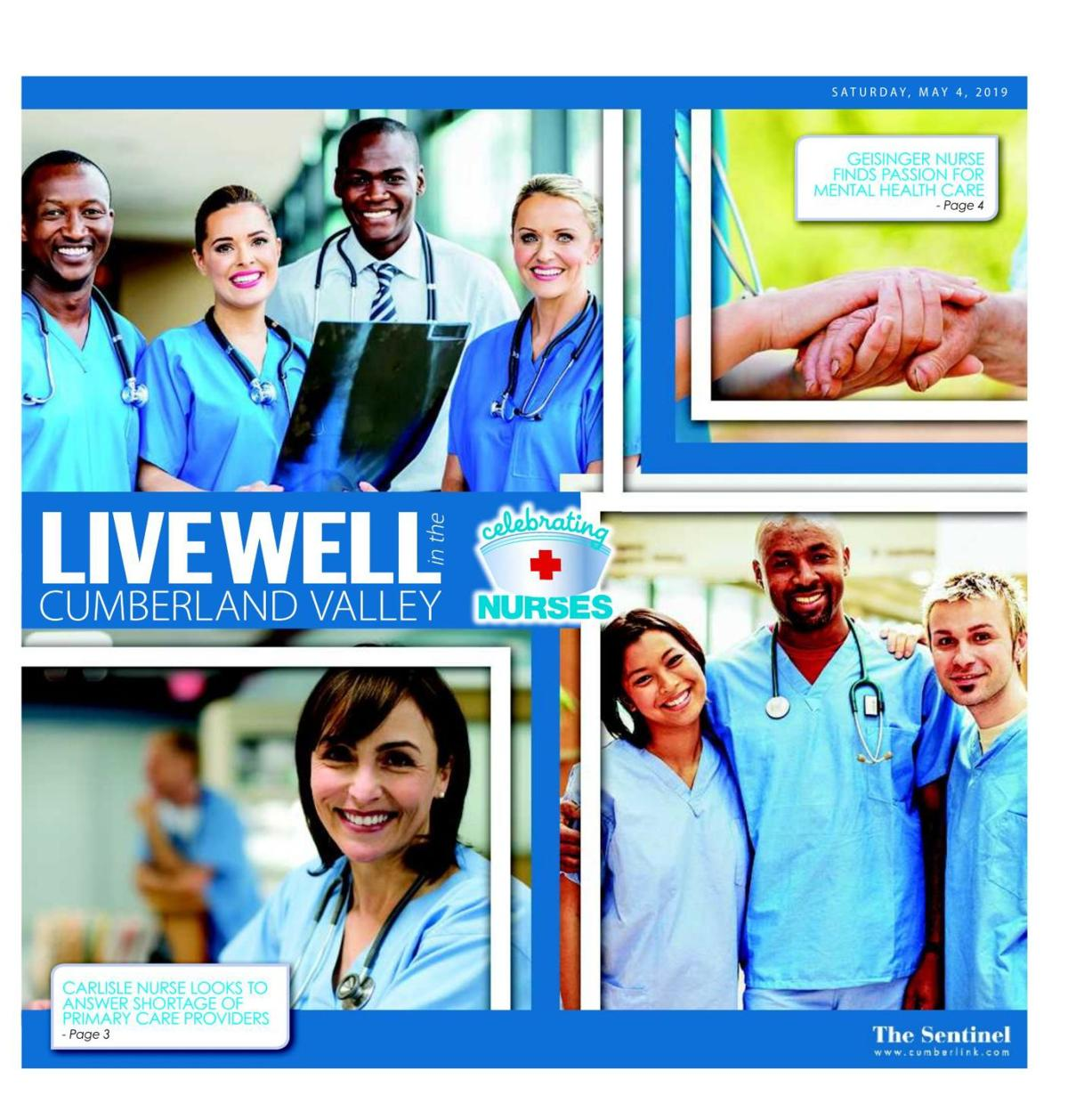 Live Well - Celebrating Nurses