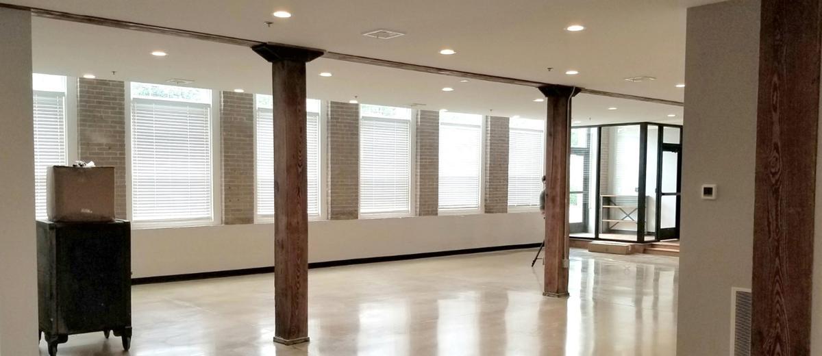 Sentinel offices interior