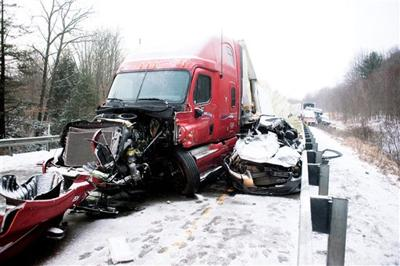 Pa  I-80 crash tally: 45 vehicles, 17 with lesser injuries | State