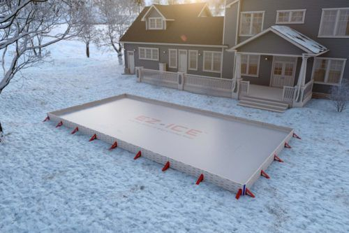 This Company Claims You Can Build A Quality Backyard Ice Rink In An Hour