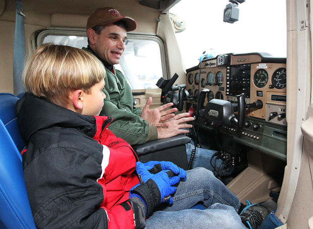Matt The Scout Boy Credits Version 2: Boy Scouts Earn Aviation Merit Badges At Carlisle Airport