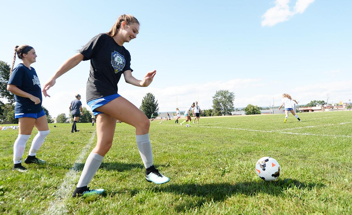 Trinity Girls Soccer Practice