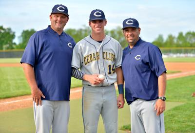 Baseball Cedar Cliff Bobby Whalen 100th hit, May 15,2019