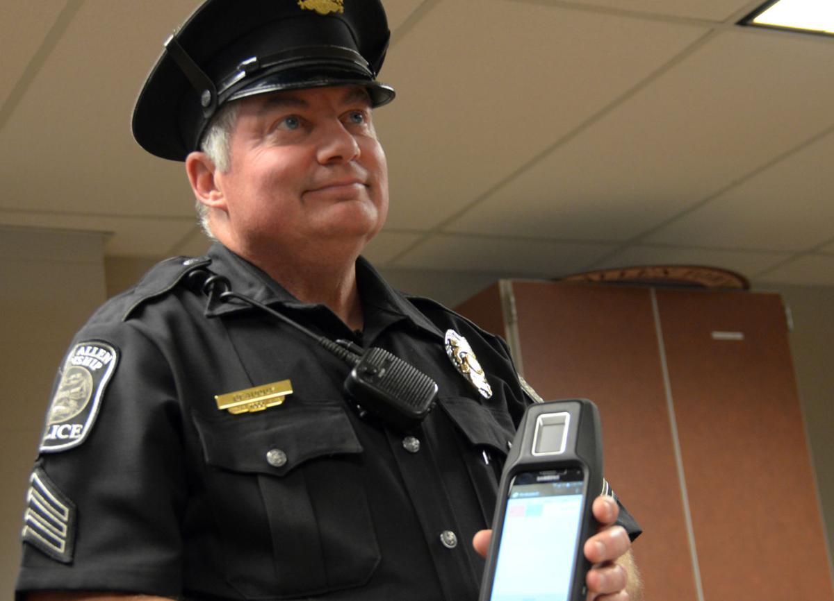Mobile fingerprint scanners
