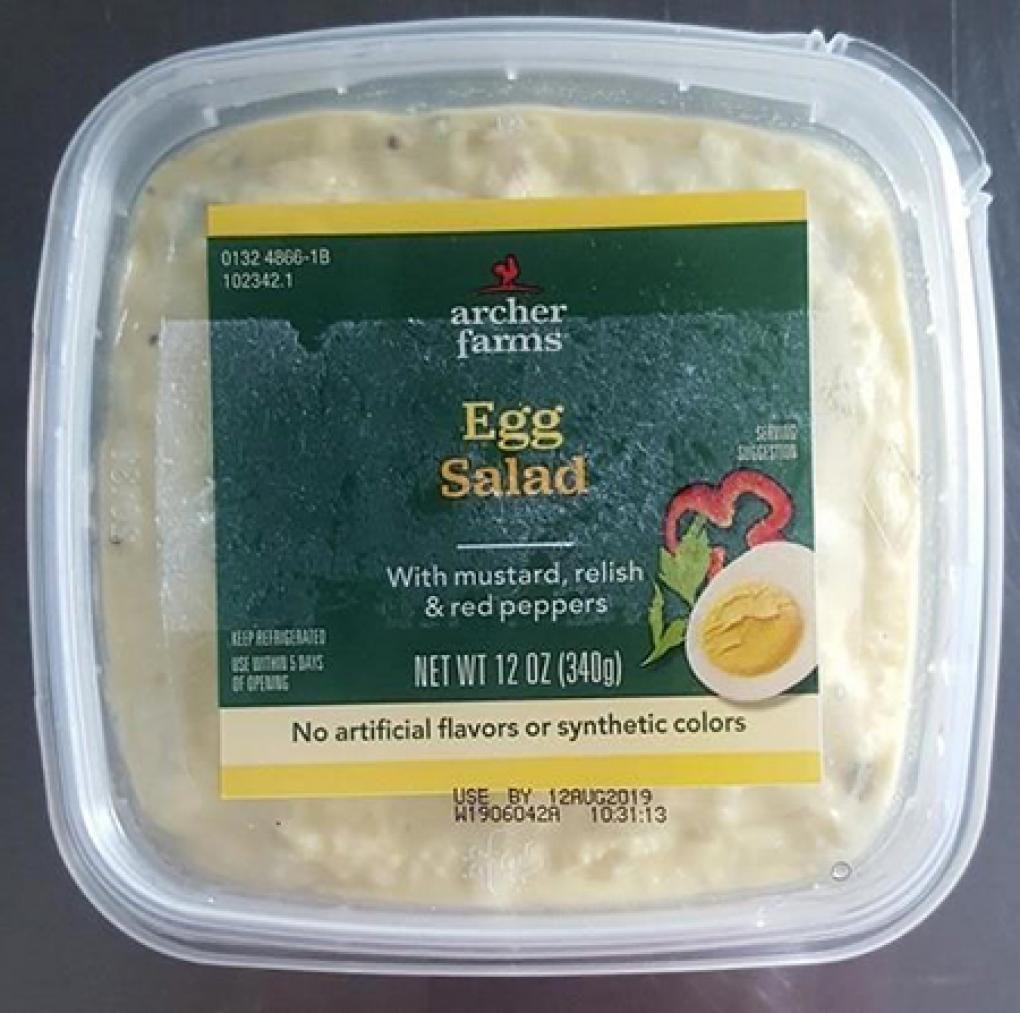 Recall egg salad
