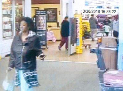 7fa8e0216 Carlisle police seek woman in theft of money from Walmart