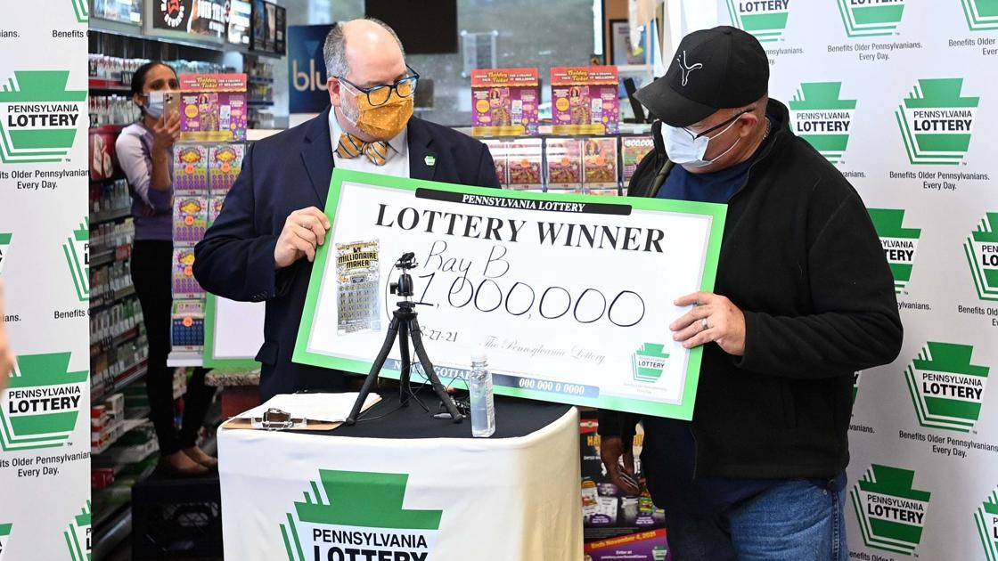 Newville man wins $1 million from scratch-off ticket