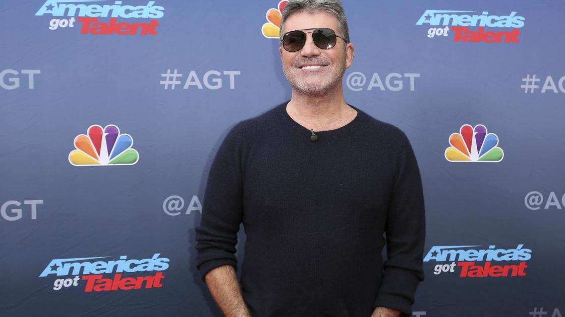 Simon Cowell looks a little different after going vegan