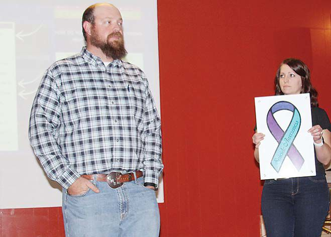#LetsTalk app and other resources shared at Fifth Annual Suicide Walk