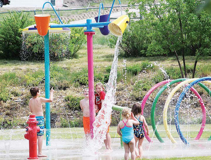 Beat the heat with fun at the Splash Park and Shelby Pool