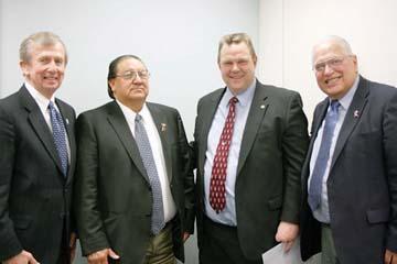 Delegation goes to DC on behalf of Blackfeet Advanced Technologies